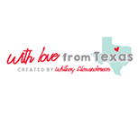 With love from Texas logo