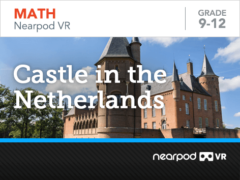 Castle in the Netherlands lesson cover
