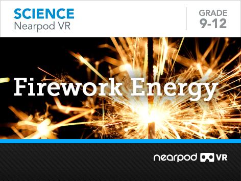 Firework Energy lesson cover
