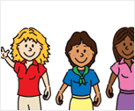 Drawing of kids