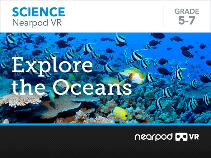 Explore the Oceans lesson cover