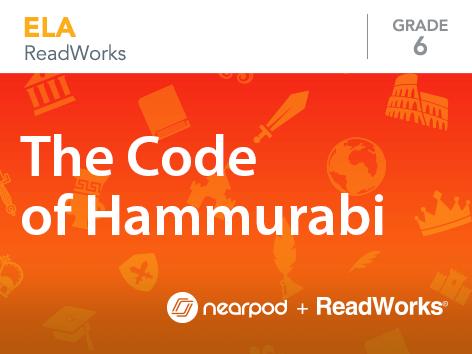 The Code Hammurabi