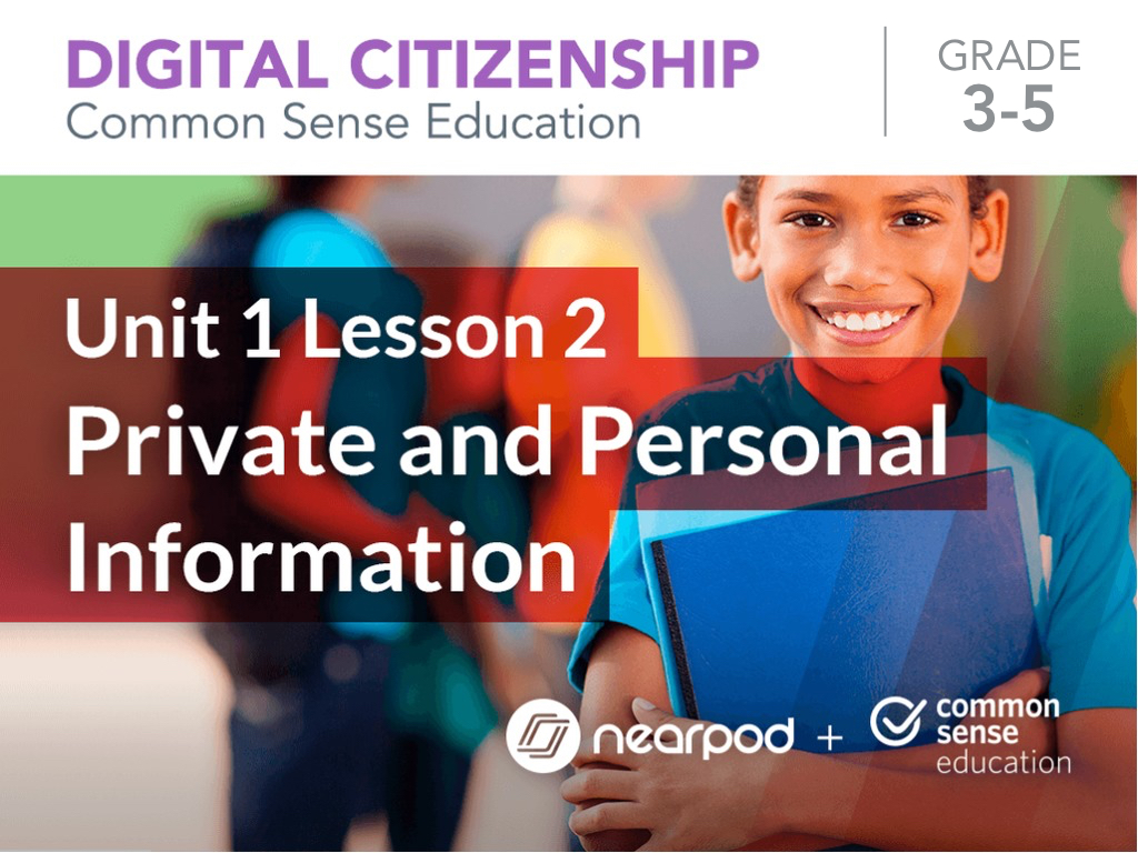 Private and Personal Information