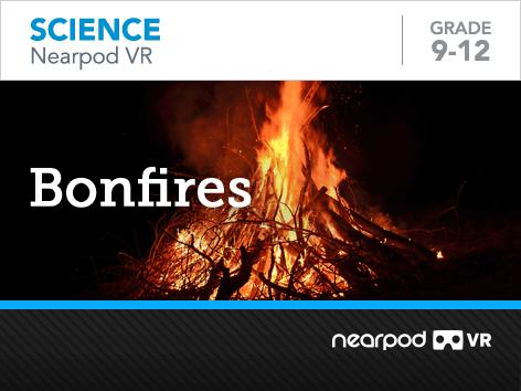 Bonfires lesson cover