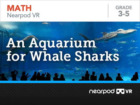 An Aquarium for Whale Sharks lesson cover
