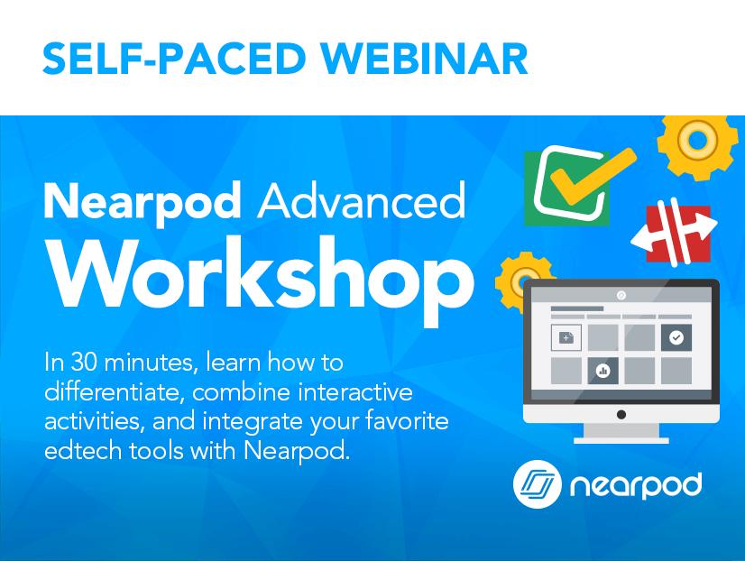 Nearpod Advanced workshop lesson cover