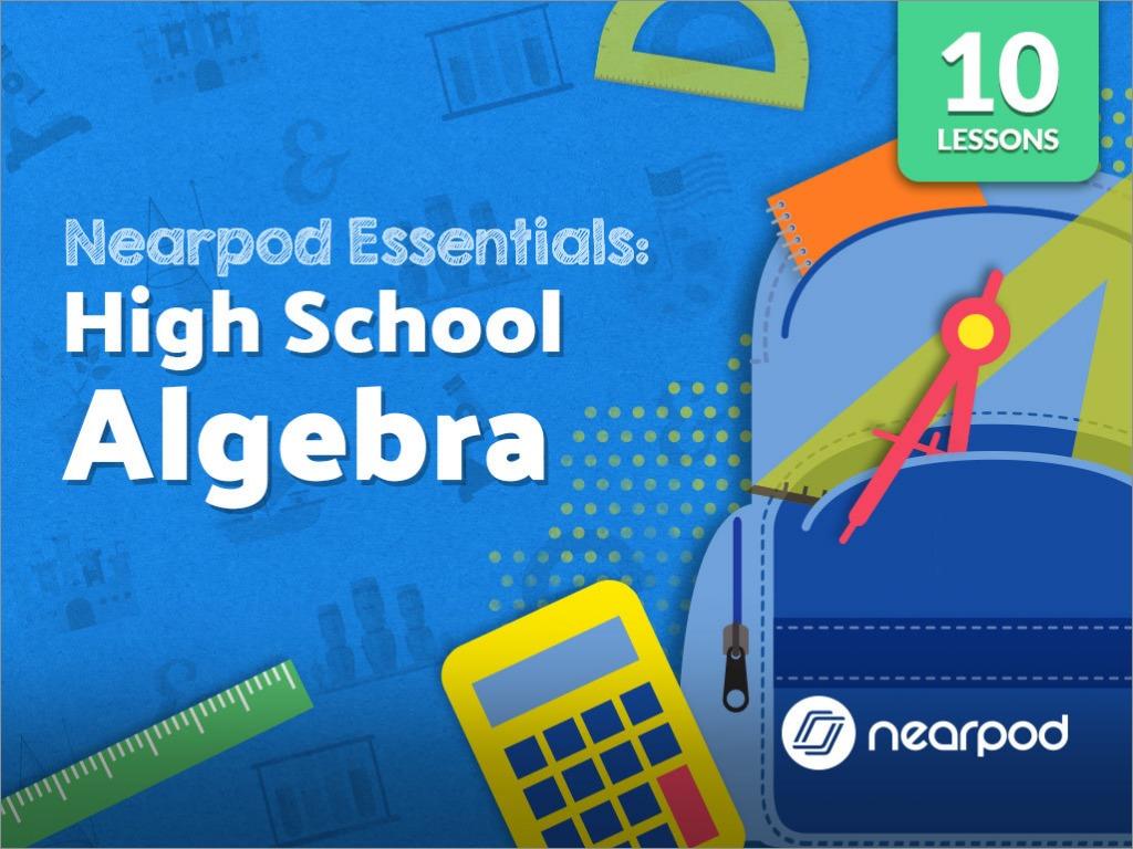 HS Algebra