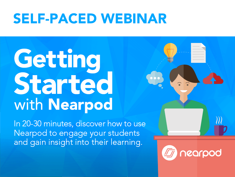 Getting started Student-paced webinar lesson cover