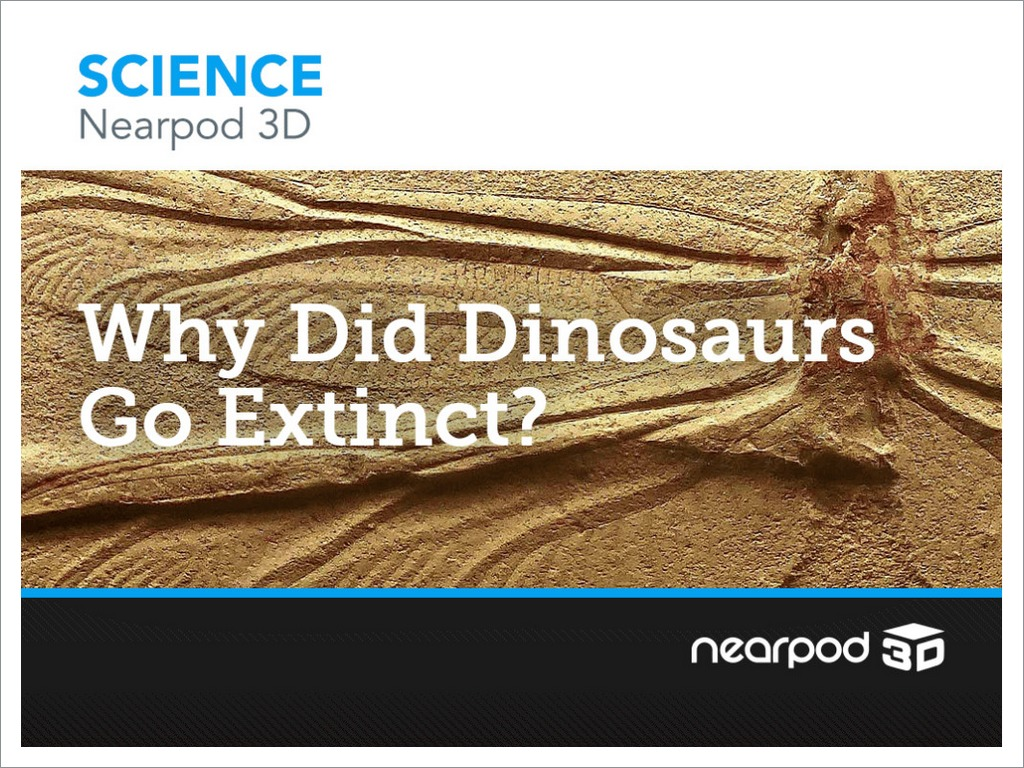 why did dinosaurs go extinct?