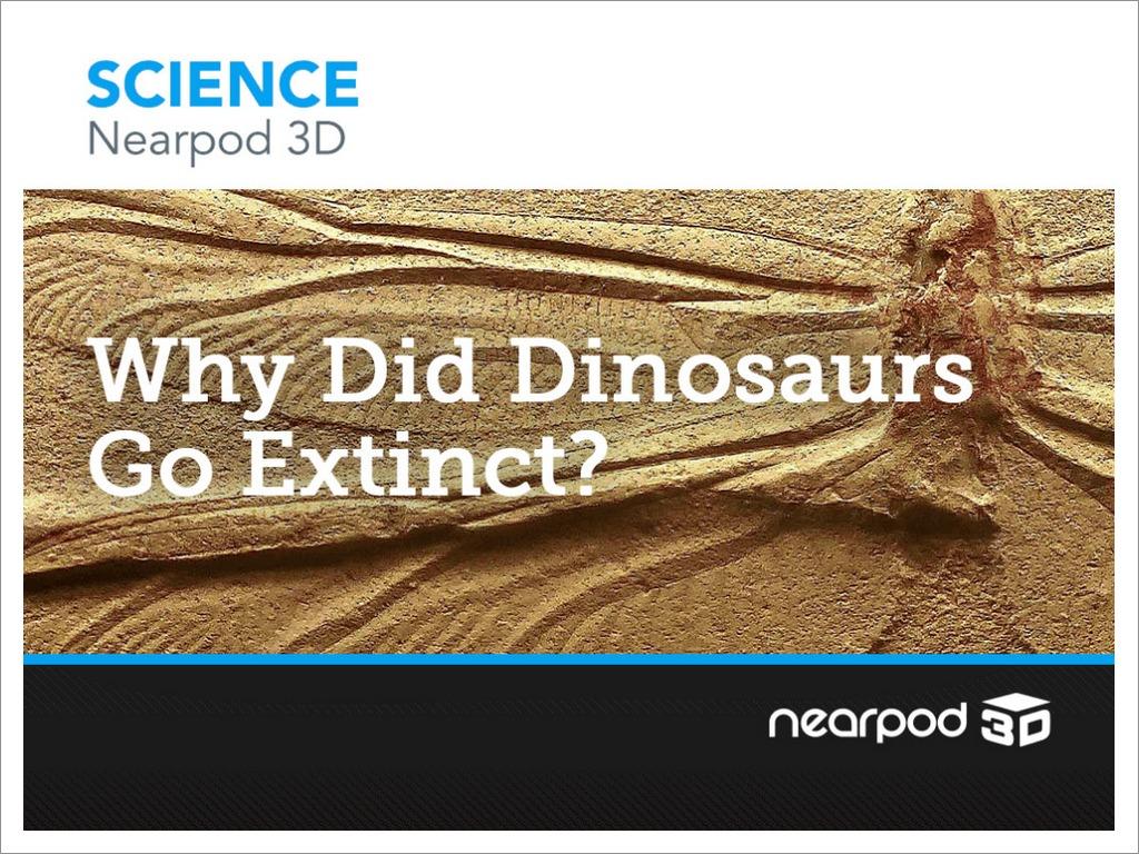 why did dinosaurs go extinct?
