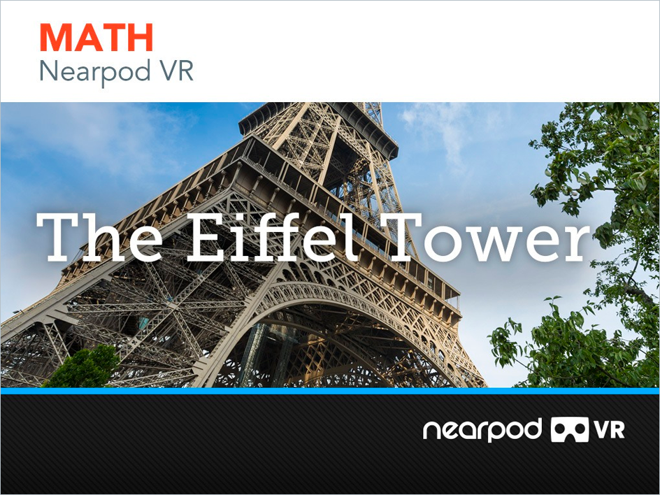 Eiffel Tower in VR