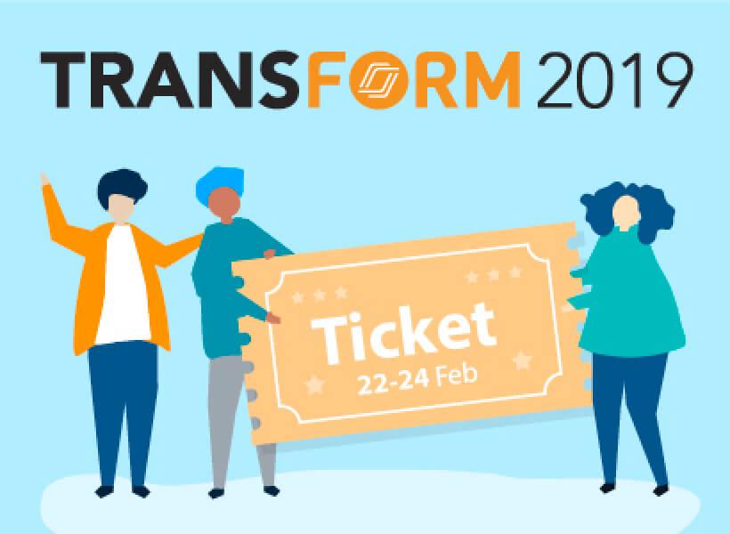 Nearpod Transform 2019 conference ticket