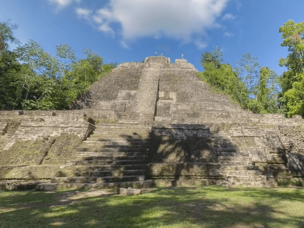 Ruins of a mayan arqueological site
