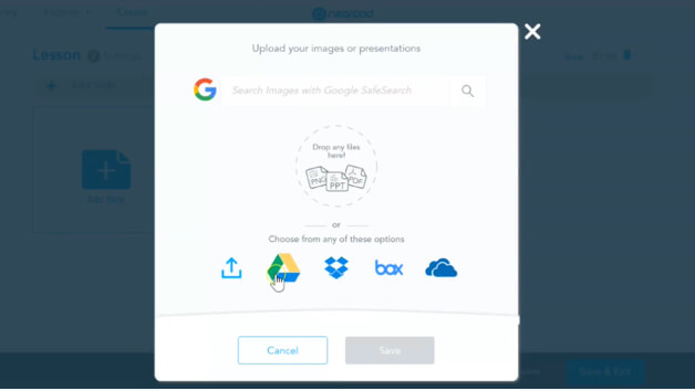 Import from Google Slides