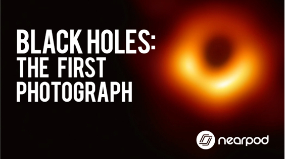 Lesson cover for 'Black Holes: The first photograph'