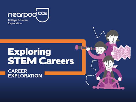 Lesson cover for Exploring STEM Careers