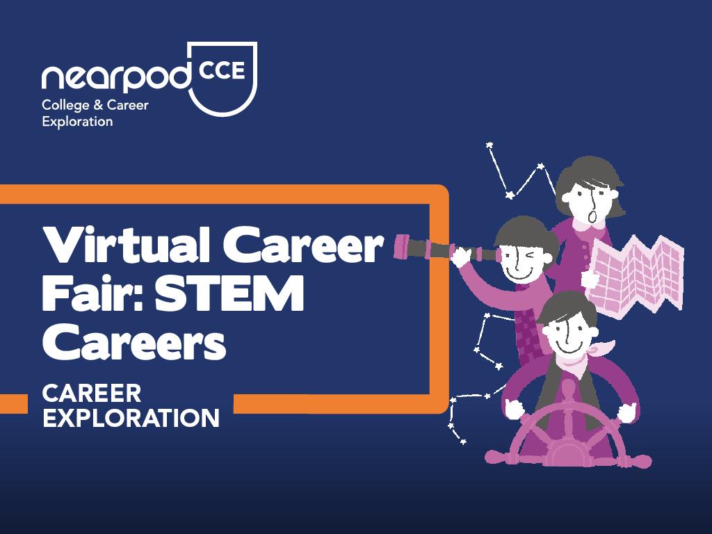 Lesson cover for Virtual Career Fair: STEM Careers