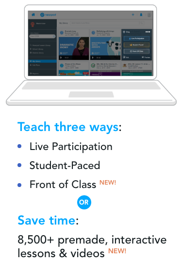 Share and organize lessons
