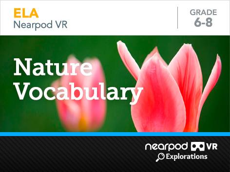 Nature vocabulary